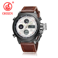 Watch Hardlex Watches 2015 New Freeshipping Design Top Brand Japan Quartz Movement Genuine Leather Strap Men