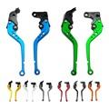 Brake Clutch Levers CNC for Kawasaki ZX1400 ZX14R ZZR1400 2006-2015 GTR1400 2007-2015 Motorcycle Adjustable Lever with Adjuster