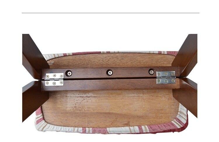 Sala da pranzo mobili sgabello pieghevole sgabello da giardino