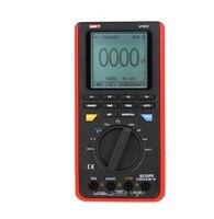 UNI T UT81C 16 мГц 80 мс/с частота дискретизации в реальном времени ручной Scopemeter осциллограф цифровой мультиметр с измерение емкости