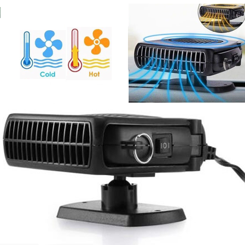 Universal 24V 150W Car Portable Heating Heater Fan Windshield Defroster Demister portable air cooler radiator heated windshield