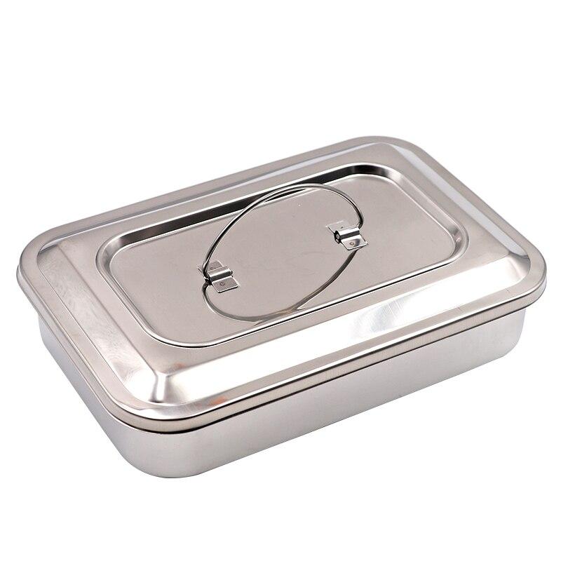 Vétérinaire aiguille en acier Inoxydable boîte en métal boîte de moxibustion appareil de reproduction Bétail Outils # xm0756
