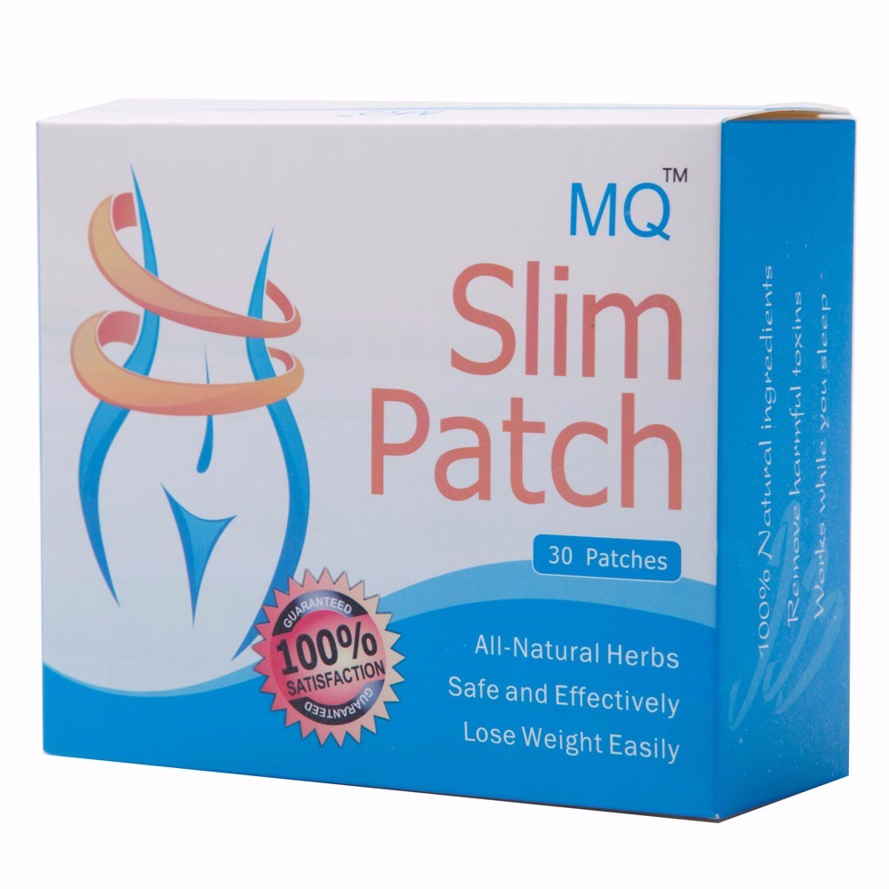 30 Pcs/Box Slim Patch Weight Loss Natural Ingredients Navel Patch For Women Men Fat Burning Slimming Body Wraps Health Products 13