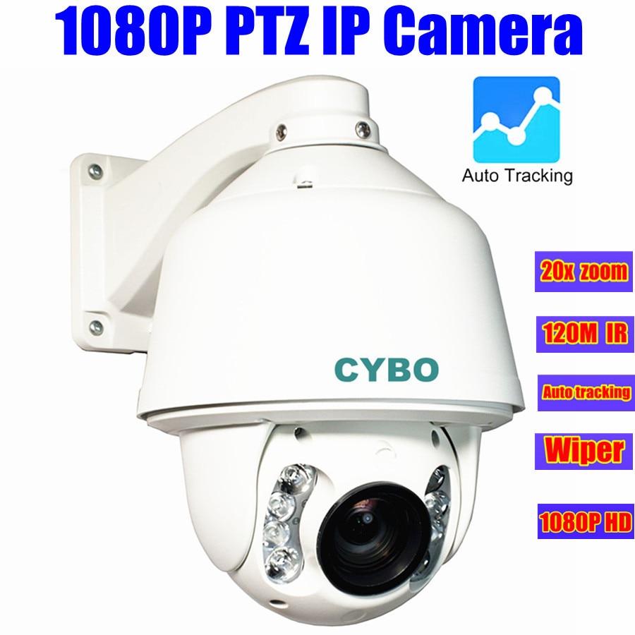 IP PTZ Camera 1080P 2MP HD Auto Tracking 20X ZOOM 120M ...