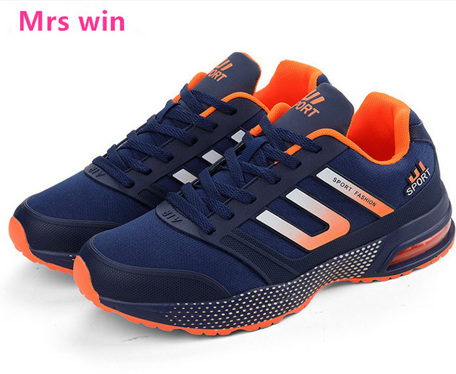 hot men hiking shoes autumn stripe sports Non-slip shoes outdoor sports zapatillas sneakers Zoom Air cushioning shoes