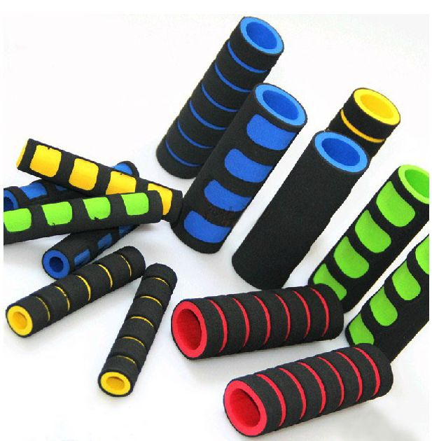Universal Grips Comfort Sponge Foam Motorcycle Scooter Bicycle 4pcs/set  2 Grip Cover + 2 Levers Cover