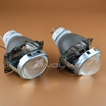 фары проектора | Sinolyn HID Биксеноновые линзы для проектора линзы фар 3,0 квадратных Q5 для H4 автомобилей фары D2S D2H аксессуары для ламп модифицированный стиль