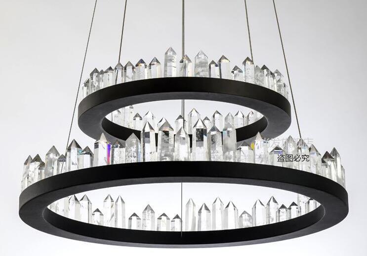 Post-modern Nordic creative living room bedroom restaurant crystal chandelier modern simple iron lamps ZL10 light ya73 modern simple crystal chandelier light creative personality crysta chandelier lamps chandeliers lighting living room bedroom