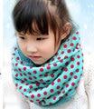 2015 Новые Симпатичные 1 Шт. Рождественский Подарок Малыш Малыш Шарф мех Зимние Теплые Шерстяные Шарф Поводка Высокое Качество