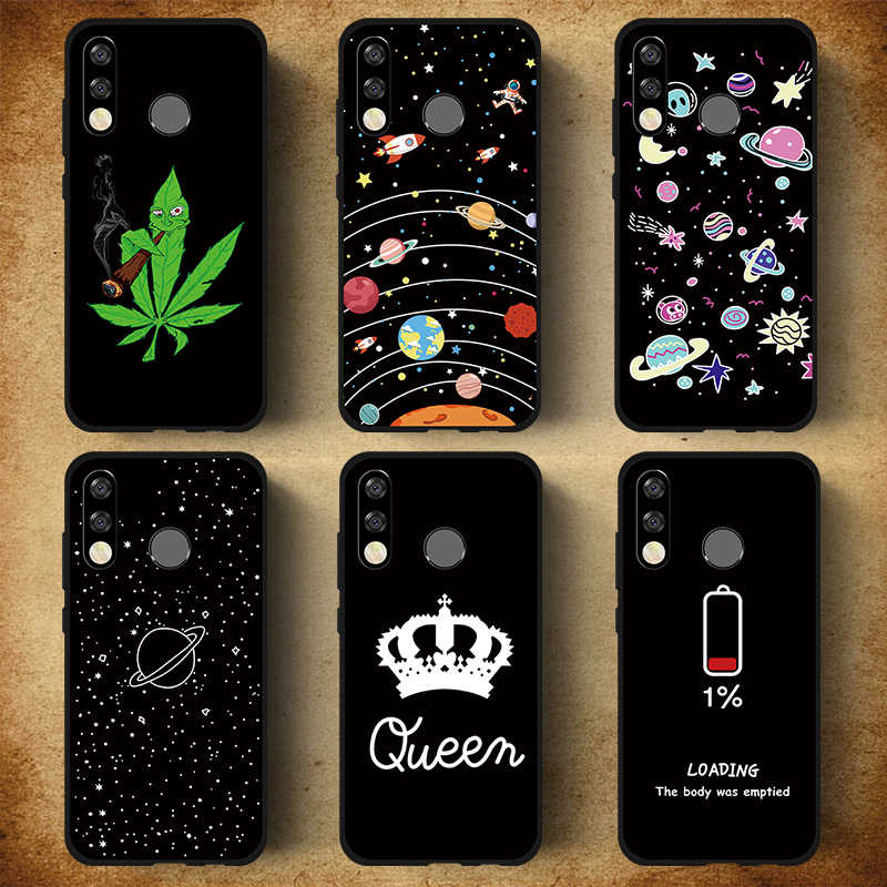 Soft Silicone Pattern Phone Case For Huawei P30 P20 Pro Mate 20 Lite Y9 2019 Nova 3 3i 4 Case Honor 10 9 Lite 8X Protector Cover