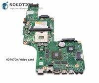 Nokotion para toshiba satélite s855 c855 l855 computador portátil placa-mãe hm76 ddr3 hd7670m v000275020 DK10FG-6050A2491301-MB-A02