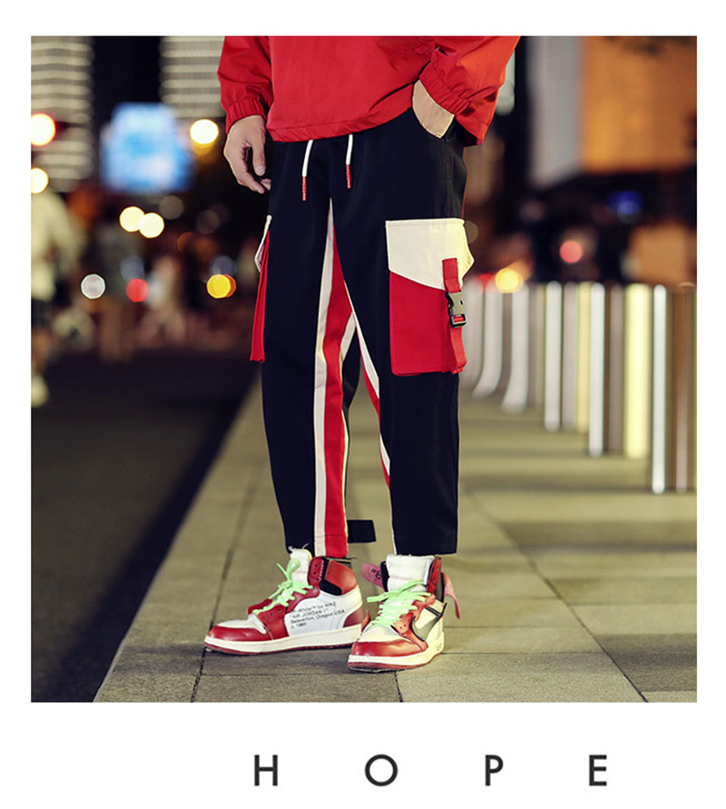 Cool Cargo Pants Men Casual Hip Hop Fashion (9)