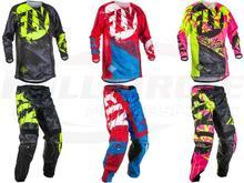 Новый Fly Гонки Байк Брюки для девочек Джерси комбинации Мотокросс MX гонки костюм беговых Джерси Брюки для девочек мотоциклетные motobiker мото костюмы