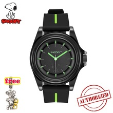 2019 snoopy Men Sport Watch Fashion Silicone Military Waterproof Watches Sport Analog Quartz Wristwatch Hours Clock relogio ma цена