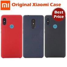 Original Xiaomi Redmi Note 5 Pro Case Redmi 5 Plus Case Shockproof Phone Back shell Hard pc + Soft Fiber Cover genuine xiaomi
