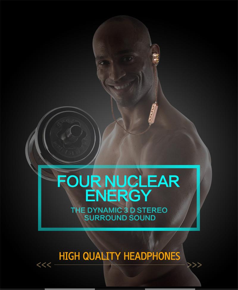 4.1 Running Sport Magnet Bluetooth Headset headphone 4