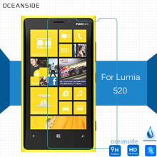 2Pcs For Nokia lumia 520 Tempered Glass Film 0.26mm Cover Screen Protector on 520T 520.2 521 525 526 4.0(China)