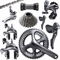 Shimano Ultegra R8000 road bike bicycle 11 22 speed grouspet update Ultegra 6800 group set 170/172.5/175mm 53 39T 50 34T 52 36T