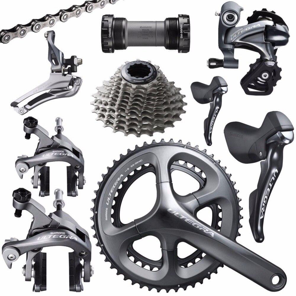 Shimano Ultegra R8000 vélo de route vélo 11 22 vitesses grouspet mise à jour Ultegra 6800 groupe set 170/172. 5/175mm 53-39 T 50-34 T 52-36 T