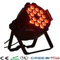 2 шт./лот LED Par Свет Этапа 18x15 W 5in1 RGBWA LED Par Can Hiqh Качество Par Свет DMX512 Диско DJ Партии КТВ Проектор Освещения
