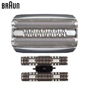 Image 4 - Braun 51 S żyletka z folii i gilotyna wymiana golarek elektrycznych z serii 5 głowice (8998 8595 8590 5643 5644 5645 nowy 550 nowy 570)