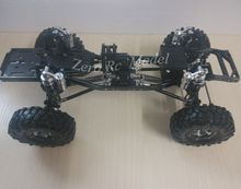 Rock Crawler Aluminum And Carbon Frame Chassis Kit AXIAL SCX10