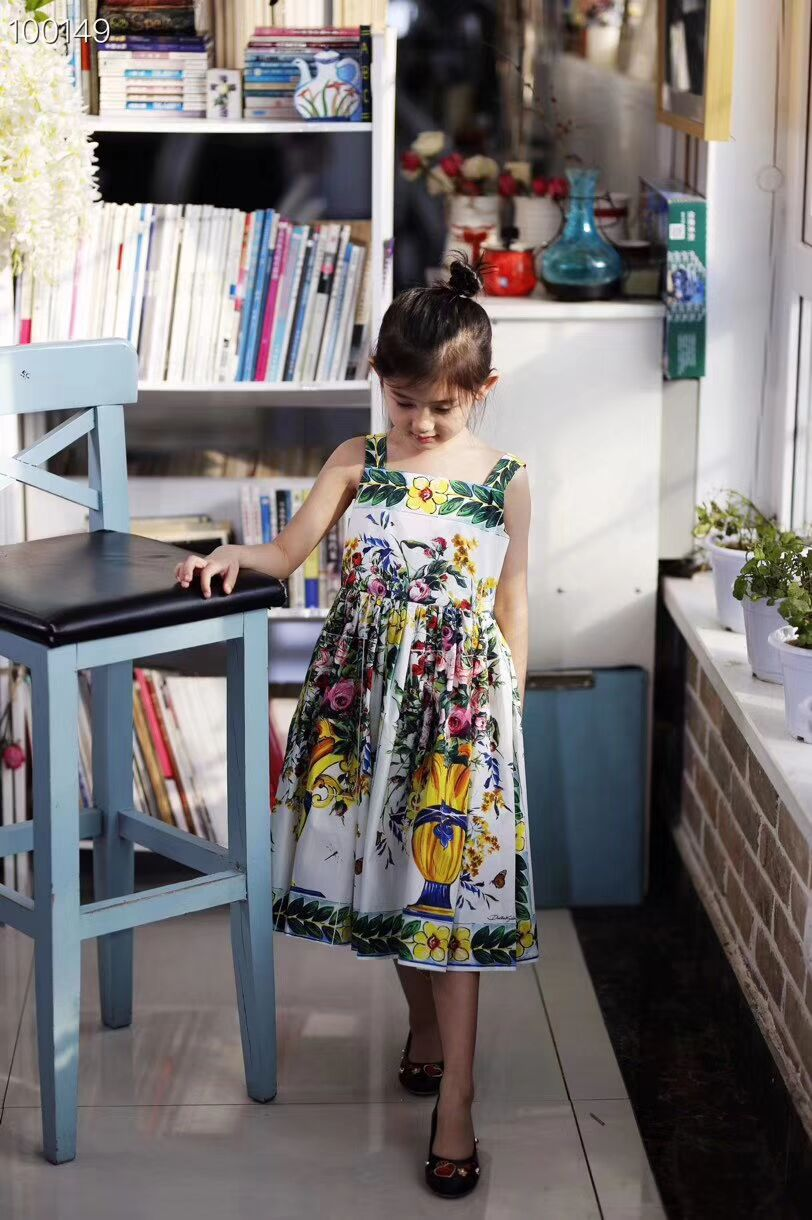 High quality 2019 new brand Summer Baby Girl Clothes  Princess Wedding  Dress Toddler kids Girls  Dresses children dress