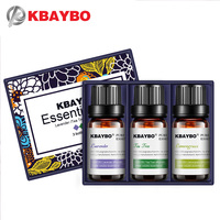 Essential Oil for Diffuser,Water-soluble Oil for Aromatherapy Humidifier 3 Kinds Fragrance of Lavender, Tea Tree,Lemongrass