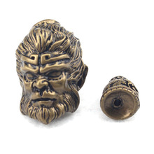 Buddha head tee Vintage style beads bronze metal beads spacer DIY beads for jewelry making 1 piece free shipping wholesale !