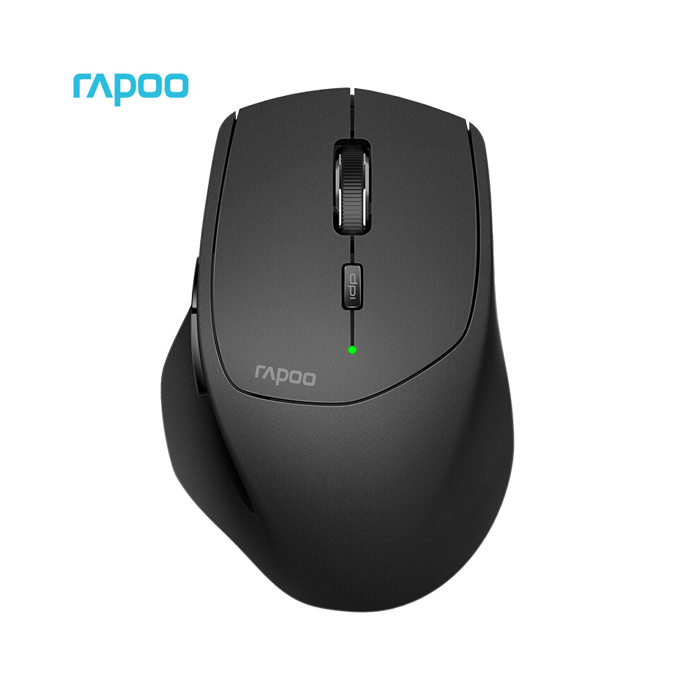Rapoo MT550 Wireless Mouse Three Modes BT Ergonomic Mice 3.0/4.0 2.4GHz Four Device Connection Gaming Mouse Gamer