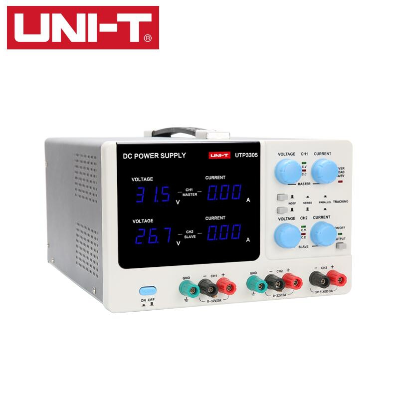 UNI-T UTP3305 DC power Precision Variable Adjustable Supply Digital Regulated Switching Power notebook mobile phone repair kuaiqu high precision adjustable digital dc power supply 60v 5a for for mobile phone repair laboratory equipment maintenance