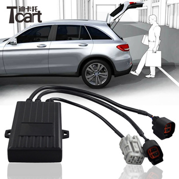 Tcart TCS PLC induction open car trunk system automatic open tail box Intelligent induction kick tail gate unlock trunk release