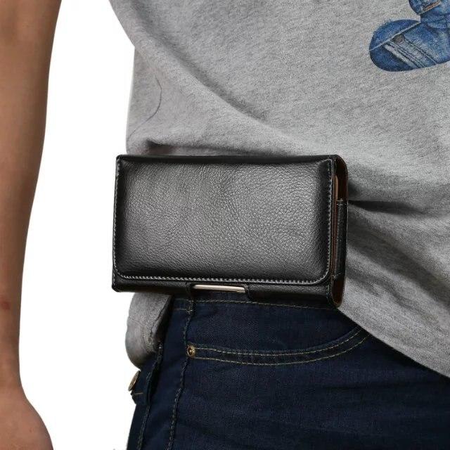 Waist Sport pouch Belt Clip Leather Wallet Case For Huawei Honor 9/ 7/7i/ 8/ V8/P8 Lite/ 8 Lite/ 8 pro/5c/ 6c Pro/6X / 4A /Magic