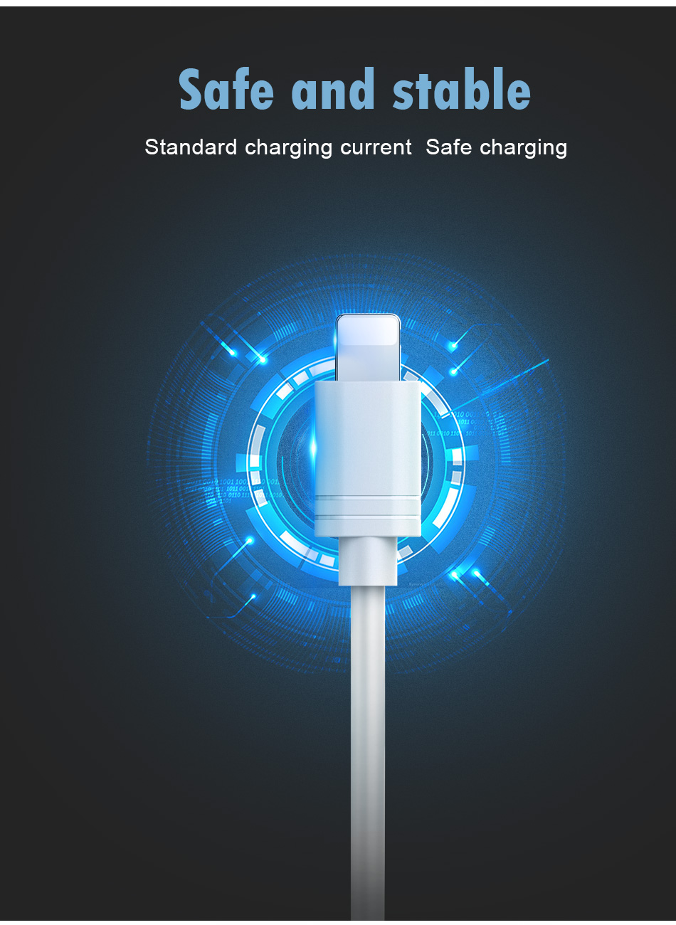 NOHON TPE Charging Data Cord For iPhone X XS MAX XR 8 7 6 6S 5 5S Plus IOS 11 12 Lighting Fast Charger Charge Cable For ipad 2M (7)