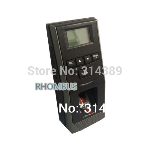 RS485 networking Fingerprint SD card B&W LCD and time attendance machine Door lock access control F6 500 templates 30 000 transaction capacity f6 fingerprint access control with 125khz rfid card and fingerprint time attendance
