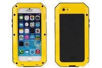 Waterproof Shockproof Dirtproof Gorilla Metal Aluminum Case Cover For Apple IPhone 4S 5 5S SE 6