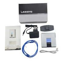 Darmowa dostawa! odblokowany Linksys PAP2T NA odblokowany z retail box PAP2 NA VOIP adapter VOIP gateway