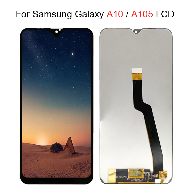 183f29205fde25 For Samsung Galaxy A10 lcd Display A105/DS A105F A105FD A105M Digitizer  Touch Screen With Frame Digitizer For Samsung A10 lcd