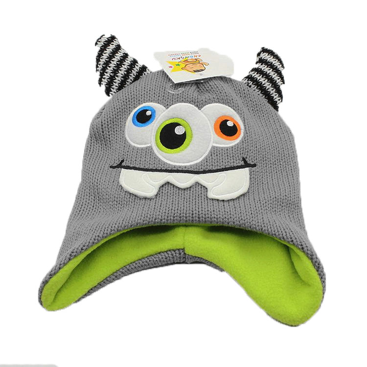 81db40e04 US $6.97 15% OFF|2017 New Cartoon Dinor Boys Winter Hat Warm Lining Kids  Dinosaur Hat Toddler Warm Beanie-in Hats & Caps from Mother & Kids on ...