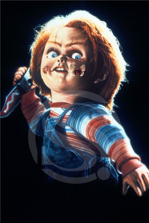 Chucky Toy Childs Play Movie Film Scary Custom Canvas