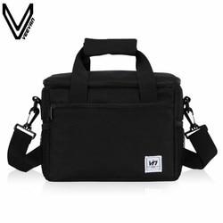 VEEVANV Portátil Isolado Lunch Bag For Kids Cooler Box Saco de Tote Lancheira Sacos Do Mensageiro Dos Homens Das Mulheres Multifuncional Saco Térmico