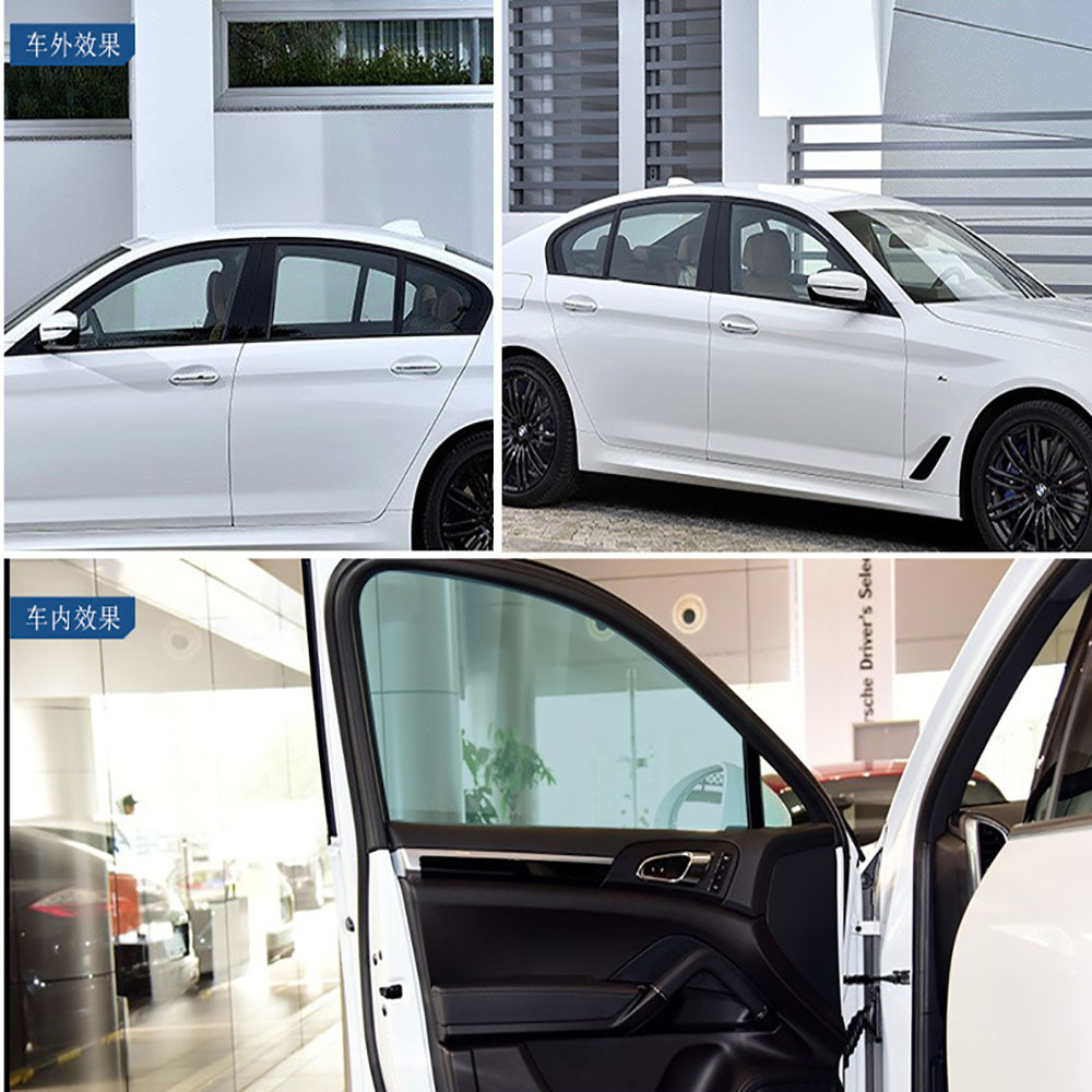 HOHOFILM 70%VLT Light Blue 4mil Window Film glass sticker Nano Ceramic Tint High UV Proof Wholesale 76cmx500cm 95%IR RejectionHOHOFILM 70%VLT Light Blue 4mil Window Film glass sticker Nano Ceramic Tint High UV Proof Wholesale 76cmx500cm 95%IR Rejection