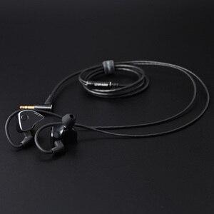 Image 5 - LZ A6 In Ear Earphone 1DD+4BA+1 Piezoelectric Ceramics Hybrid 6 Units Drive HIFI Earbud Replaceable Nozzle MMCX Detachable Cable