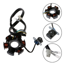 1pc 6 Pole 5 Wires Coils Ignition Magneto Stator For GY6 125cc 150cc Scooter ATV
