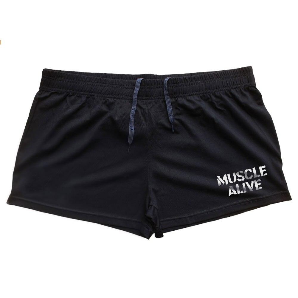 MÚSCULO VIVO Marca Roupas Calções Musculação Homens Fitness Workout Casual Imprimir Cotton curto calças 5 Cores Sportswear