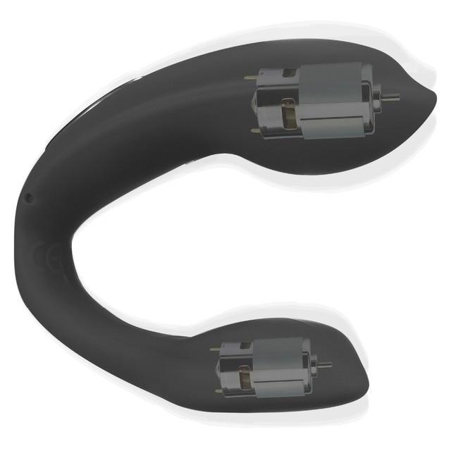 U forma clítoris estimulador punto Anal G vibrador Anal punto Massager USB recargable 10 consolador Vibradores para las mujeres juguetes sexuales por DHL cd8b33