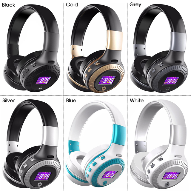 ZEALOT Wireless Bluetooth Headphone Super Bass Stereo Headset TF Card MP3 Playback FM Radio Handsfree With Microphone