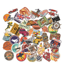 Pvc Stickers Outdoor Sports 46PCS Do Not Repeat Waterproof