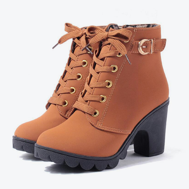 MCCKLE Plus Size Ankle Boots 2