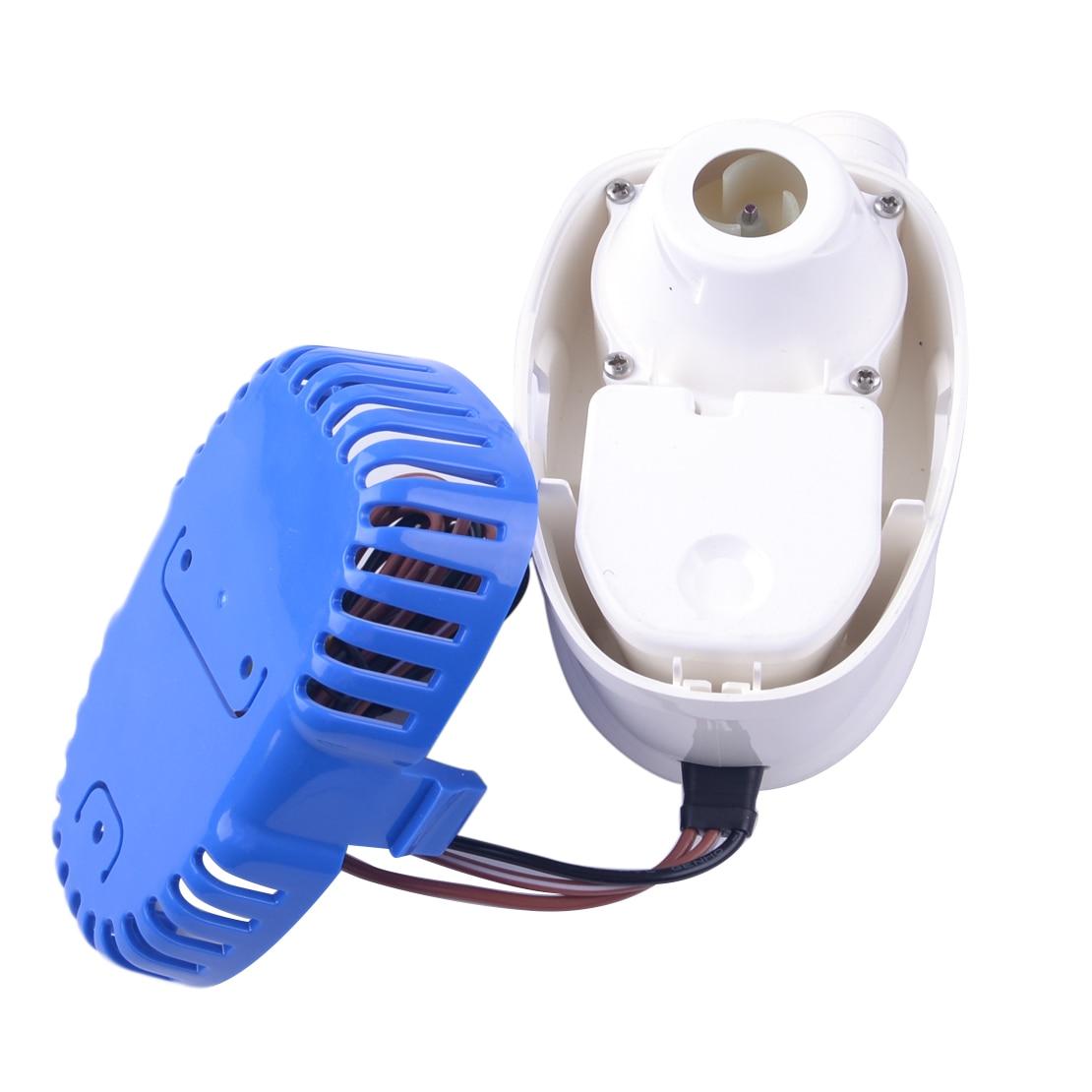 Pompe à eau automatique Submersible automatique de cale de CITALL 12 V 1100GPH 3.2A avec le commutateur de flotteur pour les coques marines de bateau/réservoirs d'appât de cale - 3